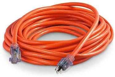 100ft 10AWG 15A extension cord